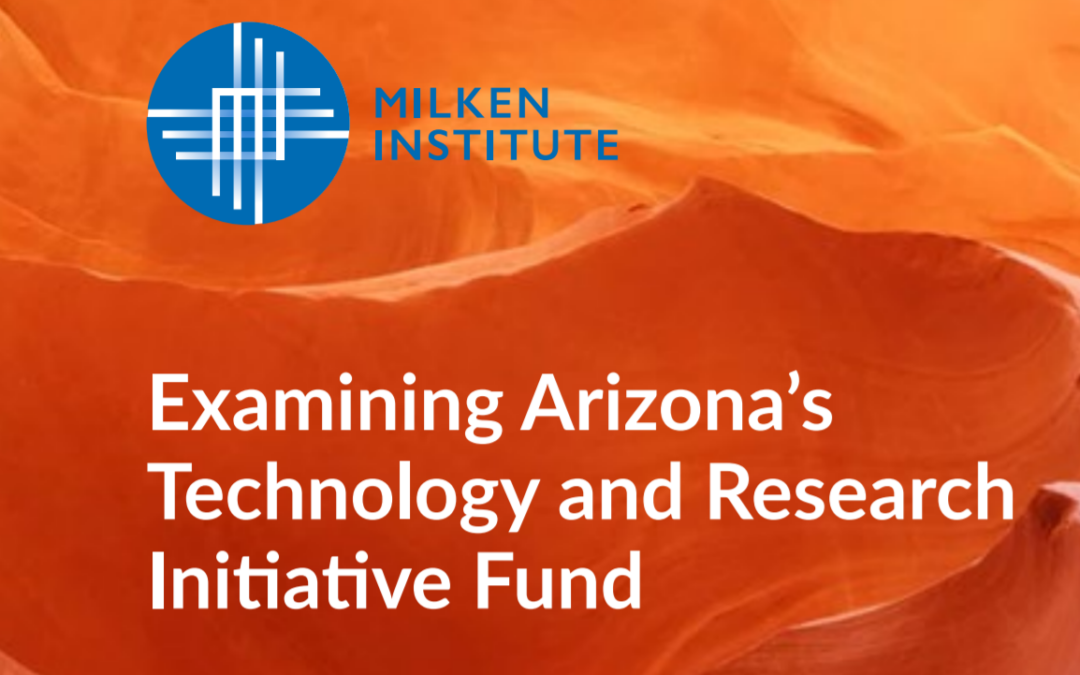 Milken Report Highlights How TRIF plays critical role in bioscience research, tech transfer at state universities